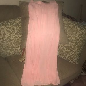 BRAND NEW! Dance And Marvel L PALE PINK MAXI Soft